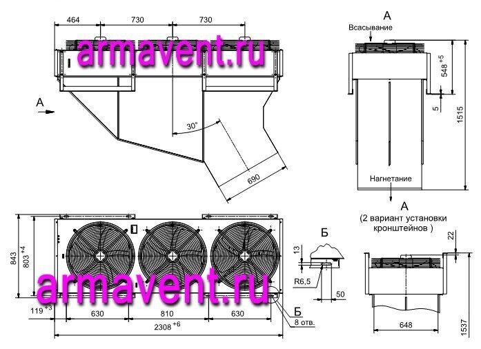 схемы установки тепловых