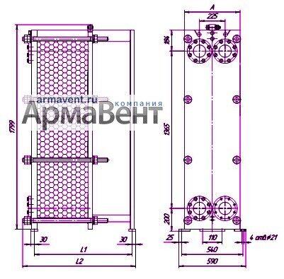 Методика подбора пластинчатого теплообменника компактный теплообменник вода-вода
